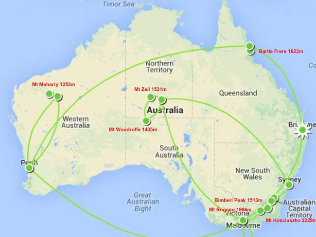 They literally travelled to every corner of Australia.