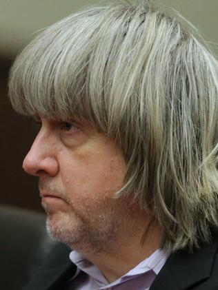 David Turpin appears at his court arraignment. Picture: AFP