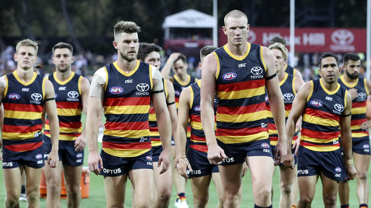 Bryce Gibbs was a shock axing from Adelaide's line-up. Picture: Sarah Reed