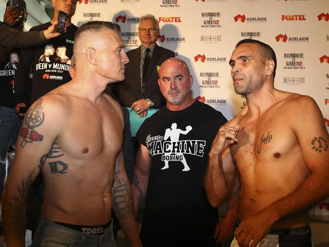 Mundine and Green weighing in.