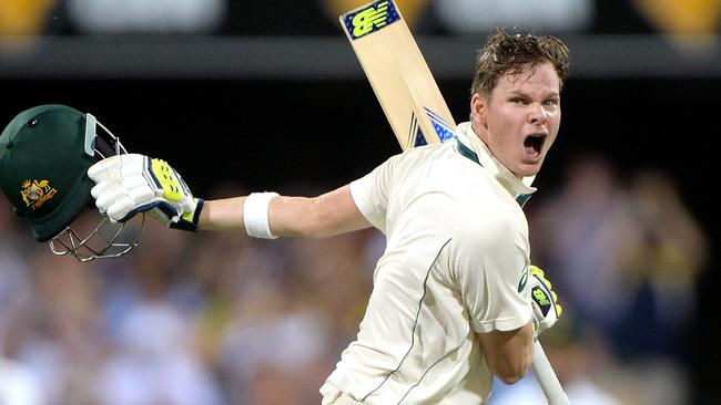 Steve Smith averages 74.76 at No.4.