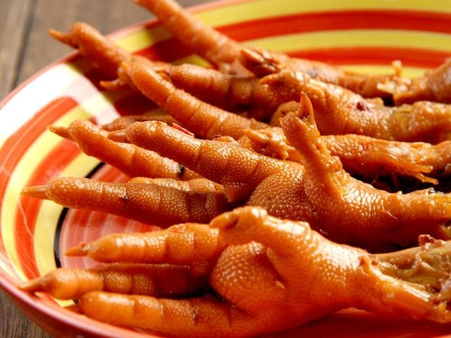 Chicken feet. Picture: Wotif