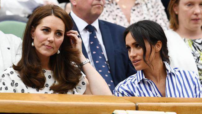 It's been claimed Kate is threatened by Meghan. Picture: Clive Mason/Getty Images