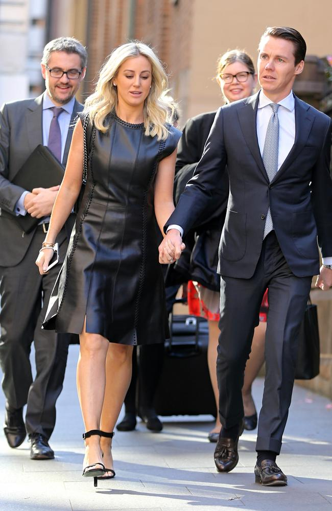 Roxy Jacenko in Louis Vuitton. Picture: John Grainger