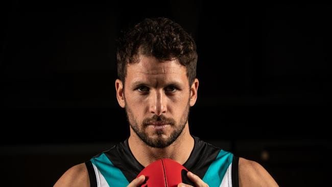 Port Adelaide's Travis Boak has been one of the form players in the competition in 2019