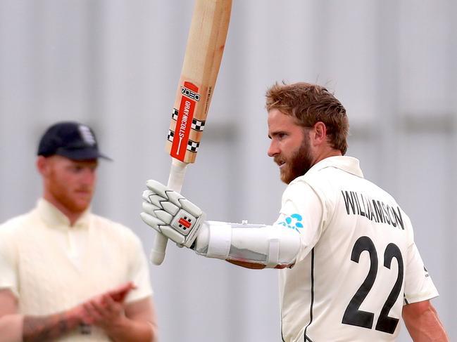 Kane Williamson scored his 21st Test century against England last week.