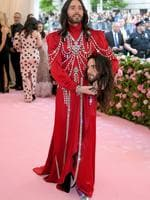 NEW YORK, NEW YORK - MAY 06: Jared Leto attends The 2019 Met Gala Celebrating Camp: Notes on Fashion at Metropolitan Museum of Art on May 06, 2019 in New York City. (Photo by Neilson Barnard/Getty Images)
