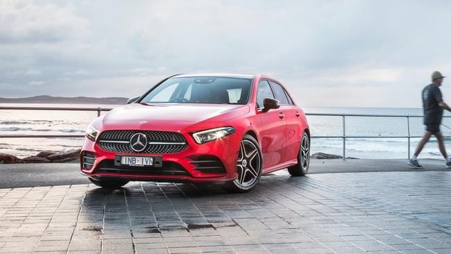 Merc's entry-level vehicle is loaded with tech.