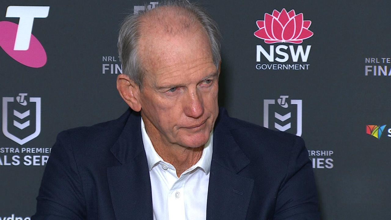 Wayne Bennett took the blame for playing Adam Doueihi on the wing against the Roosters.