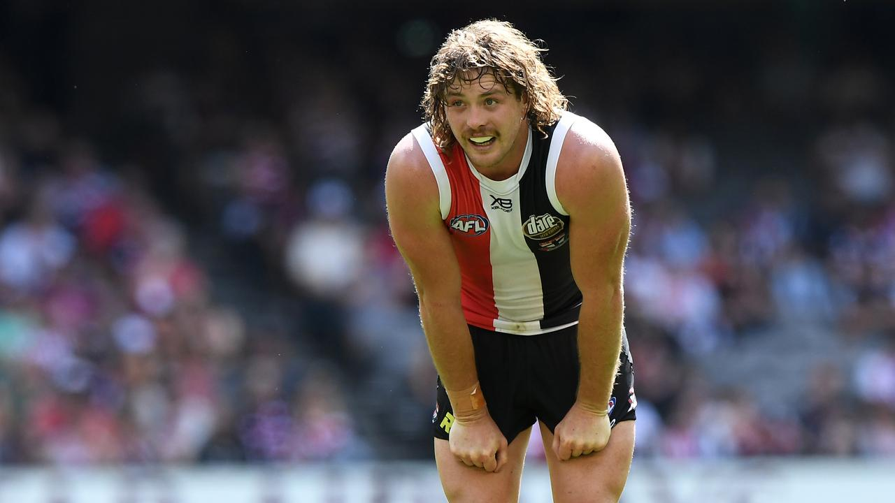Jack Steven didn't play in Round 3 for St Kilda. Photo: Julian Smith/AAP Image.