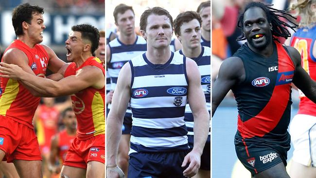 Gold Coast is 3-1, Geelong is no longer unbeaten and Essendon is back. All part of a crazy start to the 2019 AFL season.