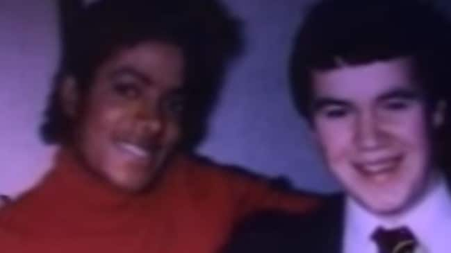 Terry George and Michael Jackson in 1979