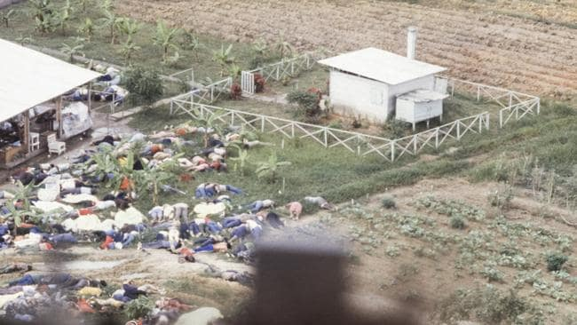 The horror of Jonestown's mass death has remained with the people who managed to survive the massacre. Picture: Matthew Naythons.