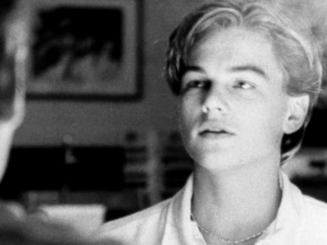 Leonardo DiCaprio in a scene from Don's Plum.