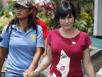 2008 - Schapelle Corby with her cell mate at Kerobokan Jail, Denpasar on Indonesian resort island of Bali. Picture: Supplied