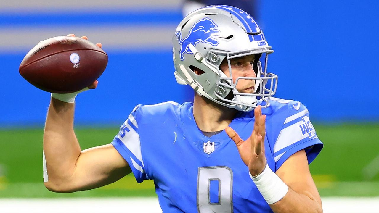 Matthew Stafford has never won a playoff game. His new team, the Rams, have won at least one in two of the last three seasons. Photo: Rey Del Rio/Getty Images/AFP