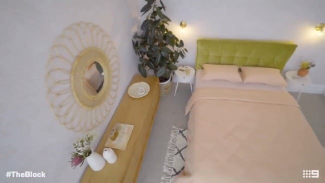 Andy and Deb's winning guest bedroom (The Block)
