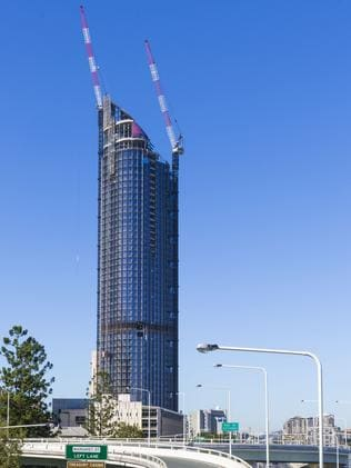 Brisbane's tallest residential building Skytower to open in