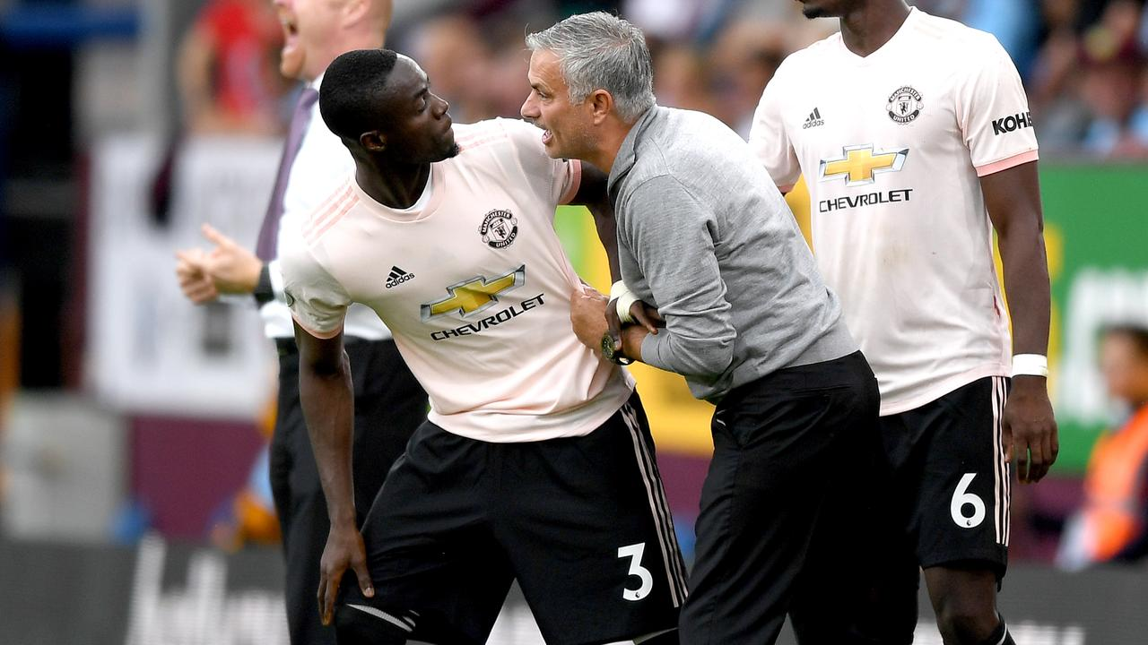 Bailly seems to have a target on his back at Old Trafford.