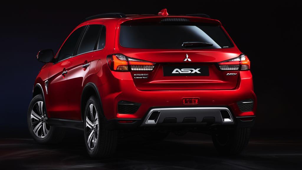Updated Mitsubishi ASX revealed ahead of 2019 Geneva motor ...