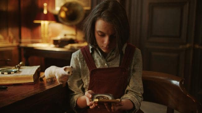 Dafne Keen plays Lyra in His Dark Materials. Picture: HBO