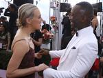 Taylor Schilling and Mahershala Ali arrive at the 23rd Annual Screen Actors Guild Awards at the Shrine Exposition Center on January 29, 2017, in Los Angeles, California. Picture: AP
