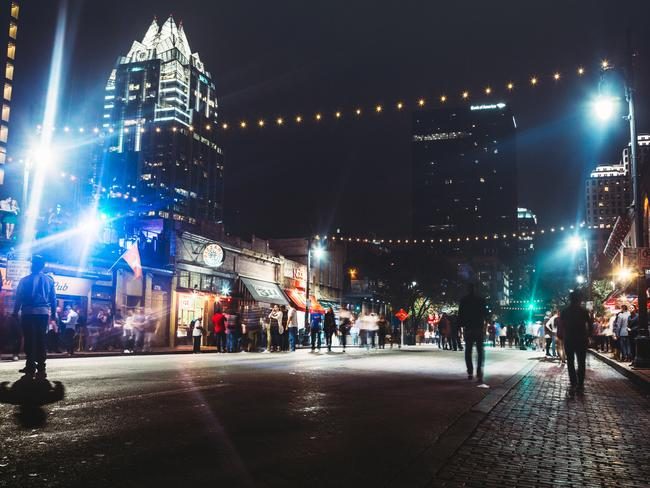 None of Contiki's competitors take travellers to the eclectic cities of Nashville and Austin (pictured), Ms Barry says. Picture: iStock