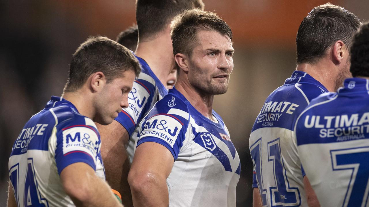 Kieran Foran will have to take a pay cut to be at the Bulldogs next season.