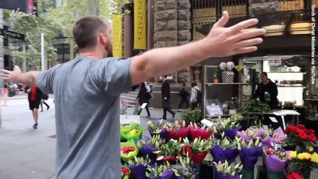 'No one cares'- Florist burns preacher