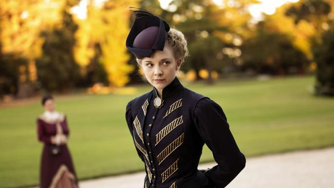Natalie Dormer also stars as Mrs Hester Appleyard in Foxtel's Picnic At Hanging Rock. Picture: Supplied/Foxtel