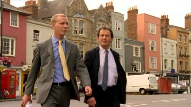 A scene from 'Lewis', the TV sequel to the Inspector Morse series. Photo: Lewis