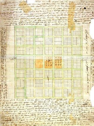 Joseph Smith's Plat documents. Picture: NewVistas.