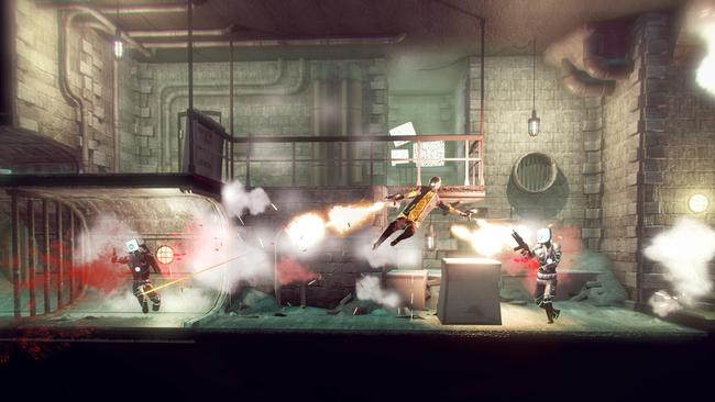 Slow-motion dual-wielding is just one way to deal with the many enemies you'll encounter. Picture: Supplied.
