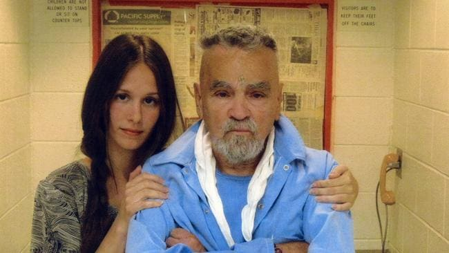 Manson with ex-fiancee Star. He apparently broke up with her after discovering what she planned to do with his dead body. TITLE: Mass Murderer Charles Manson Gets Marriage License