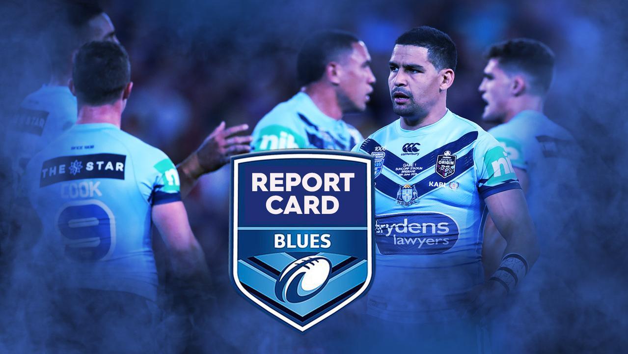 NSW Blues report card for Origin I.