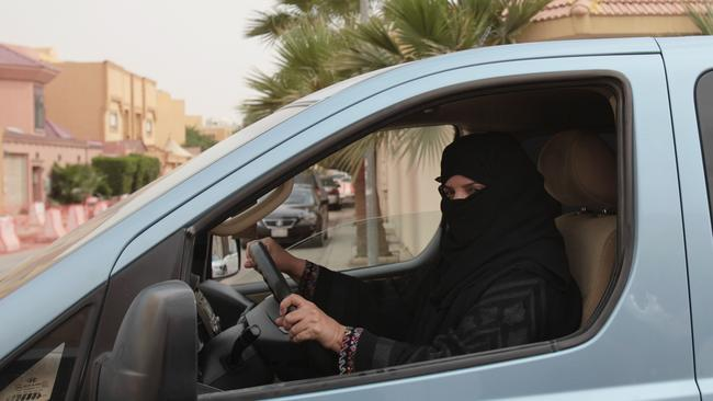 Unequal ... Though no laws ban women from driving in Saudi Arabia, authorities do not issue them licenses and ultraconservative Saudi clerics have issued religious edicts against it. Picture: AP Photo/Hasan Jamali, File