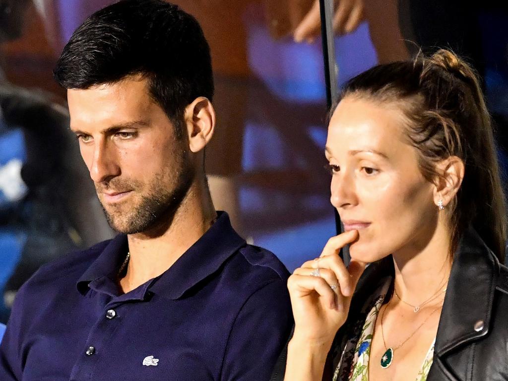Novak Djokovic and his wife Jelena both contracted COVID-19.