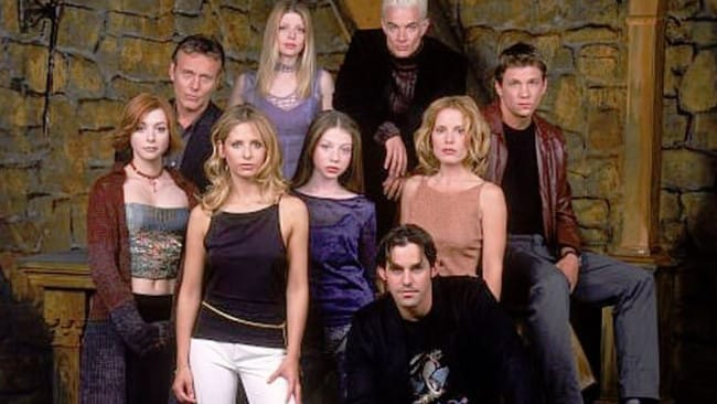 The cast of Buffy the Vampire Slayer. Picture: Supplied