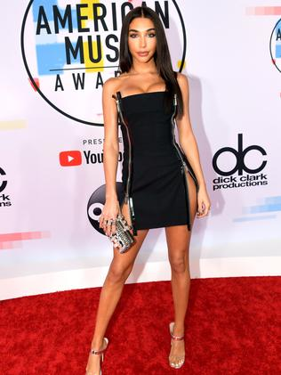 Chantel Jeffries in a LBD. Picture: Getty