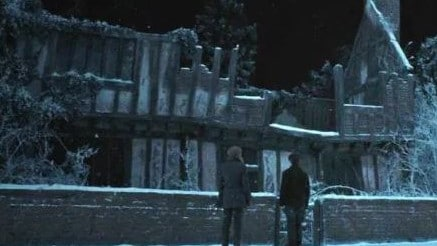 The house was destroyed when Voldemort's 'killing curse' backfired.