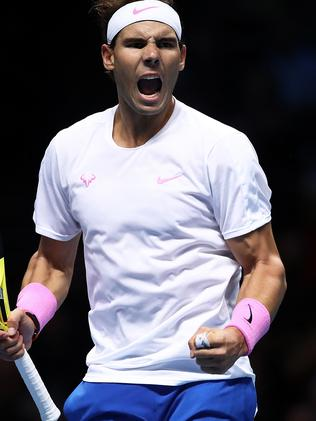 Nadal bounced back from a rough start.