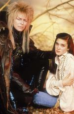 David Bowie and Jennifer Connelly in 1985's Labyrinth. Picture: australscope