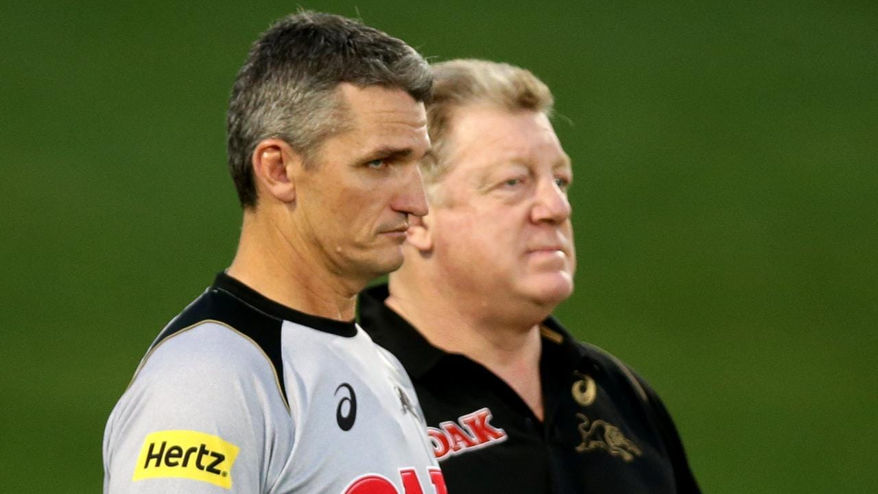 Panthers coach Ivan Cleary is now under immense pressure to win a premiership for the club. Picture Gregg Porteous