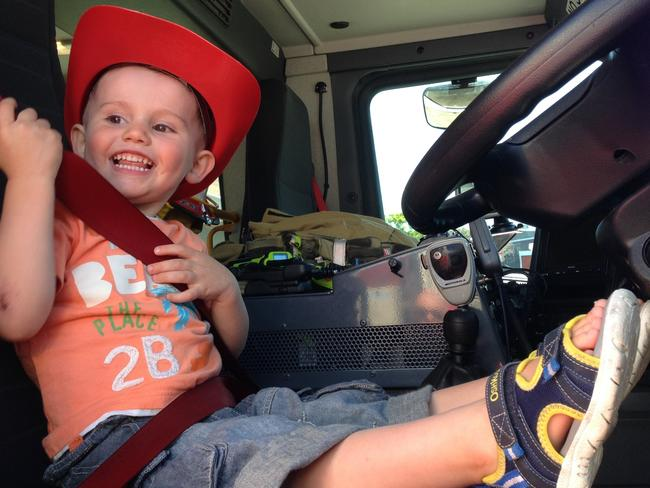 Police involved in the first searches for William Tyrrell, 3, found suspected human hair and blood in bushland, documents have revealed. Picture: AAP Image/NSW Police