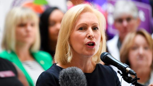 Democratic presidential candidate Kirsten Gillibrand is one of several senior figures to insist impeachment proceedings begin. Picture: AFP