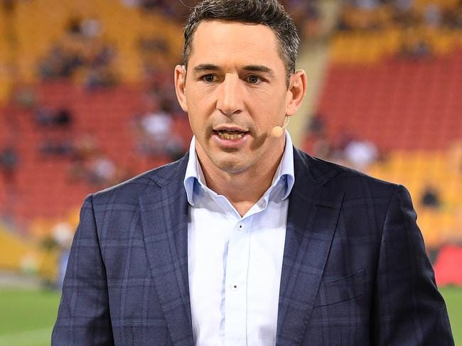 Billy Slater could only laugh.