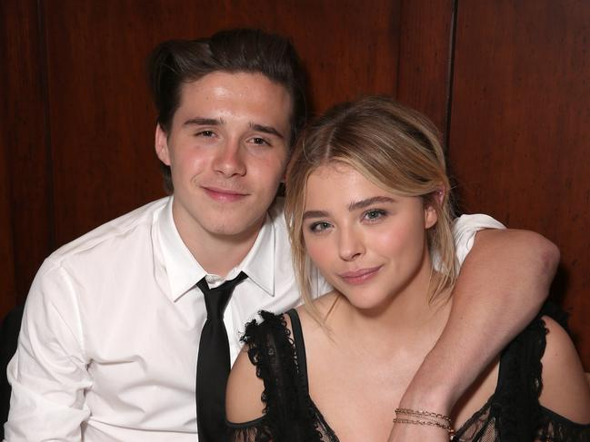 Chloe Grace Moretz and Brooklyn Beckhan had an on again, off again relationship for four years. Picture: Getty Images
