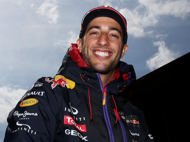 With Italian parents, Monza is a special place for Ricciardo.