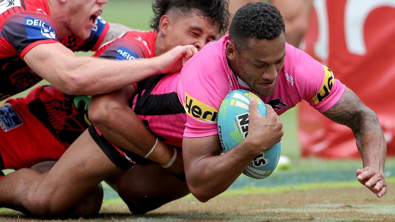 Apisai Koroisau looks set for a big improvement in 2020 after moving to the Panthers. Picture: AAP.