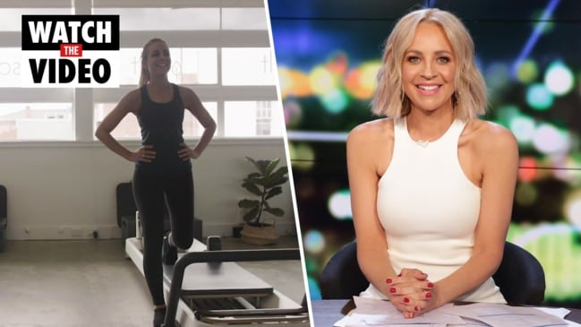Carrie Bickmore's admissions about her body and age